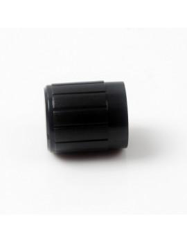 10PCS  Black Plastic Potentiometer Knob 6mm Shaft Hole